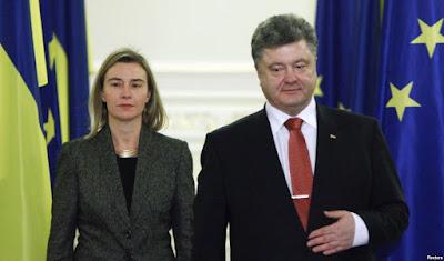 Kyiv ha visitato il Commissario per gli Affari Esteri dell'UE Mogherini