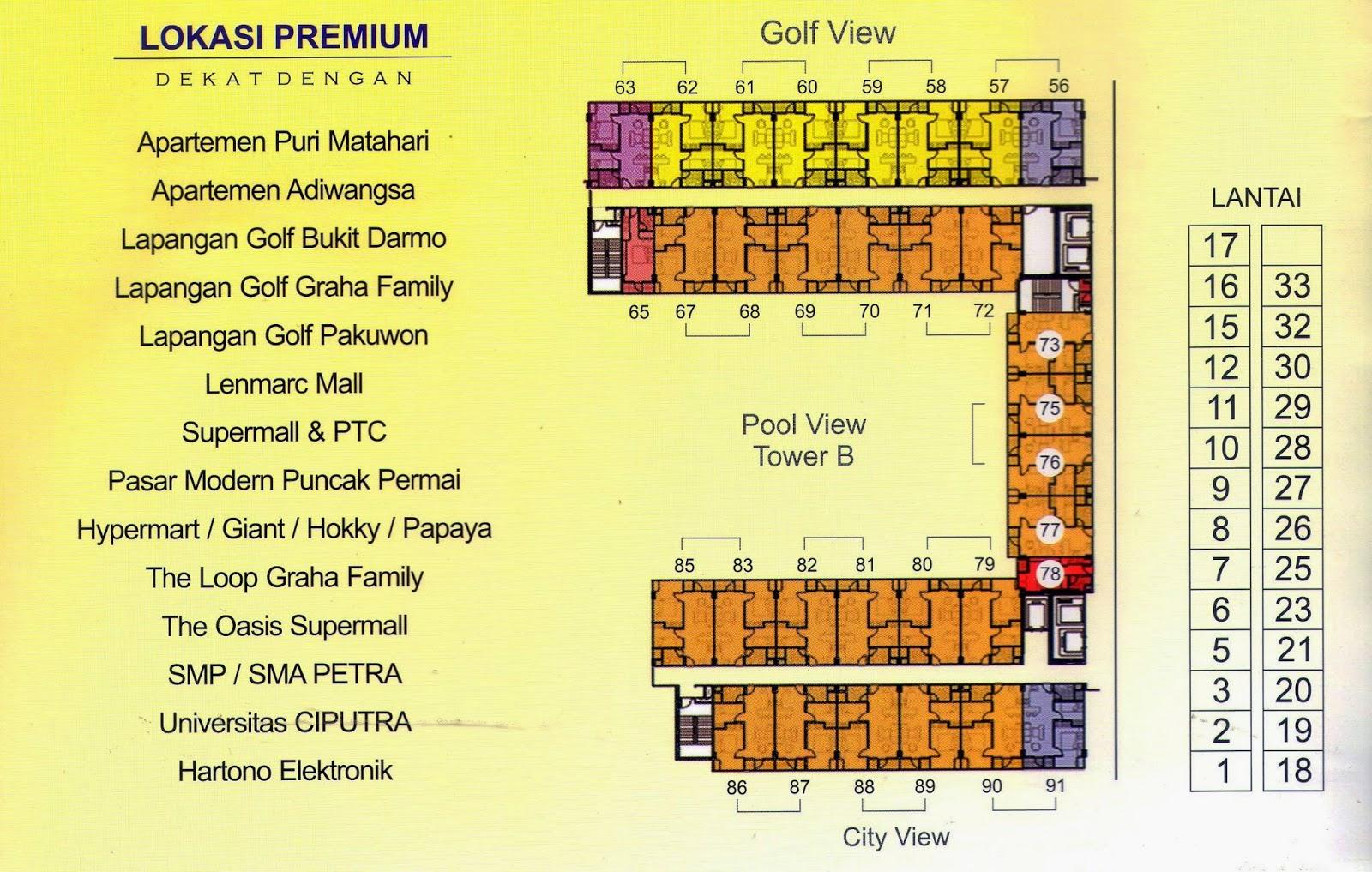 Puncak Group Apartemen Surabaya  Apartemen Puncak Bukit