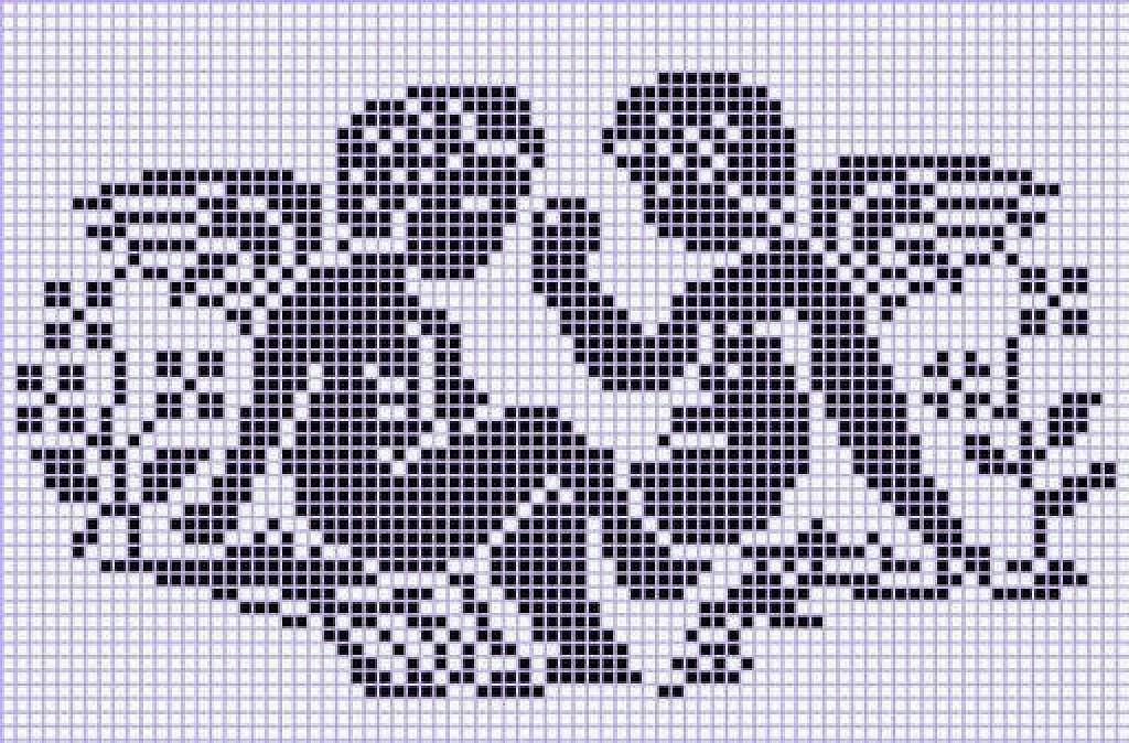 Схемы для вышивки кружева на сетке