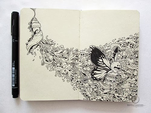 07-Reborn-Filippino-Artist-and-Illustrator-Kerby-Rosanes-Pen-Doodles-www-designstack-co