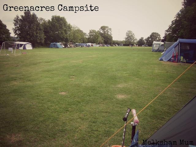 Greenacres Campsite - space!