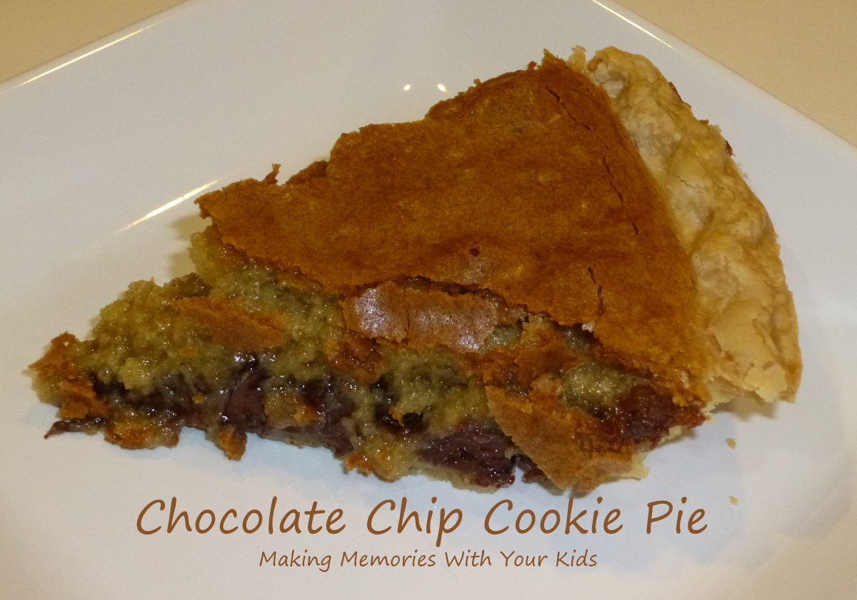 Chocolate Chip Cookie Pie {Secret Recipe Club} - Making Memories With ...