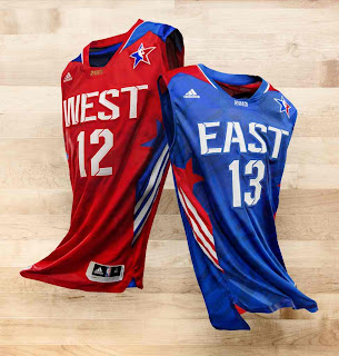 2013 nba all star jersey uniform