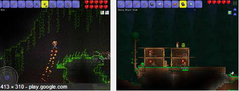 how to download terraria maps android