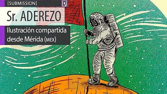 Ilustración. La conquista de Sr. ADEREZO