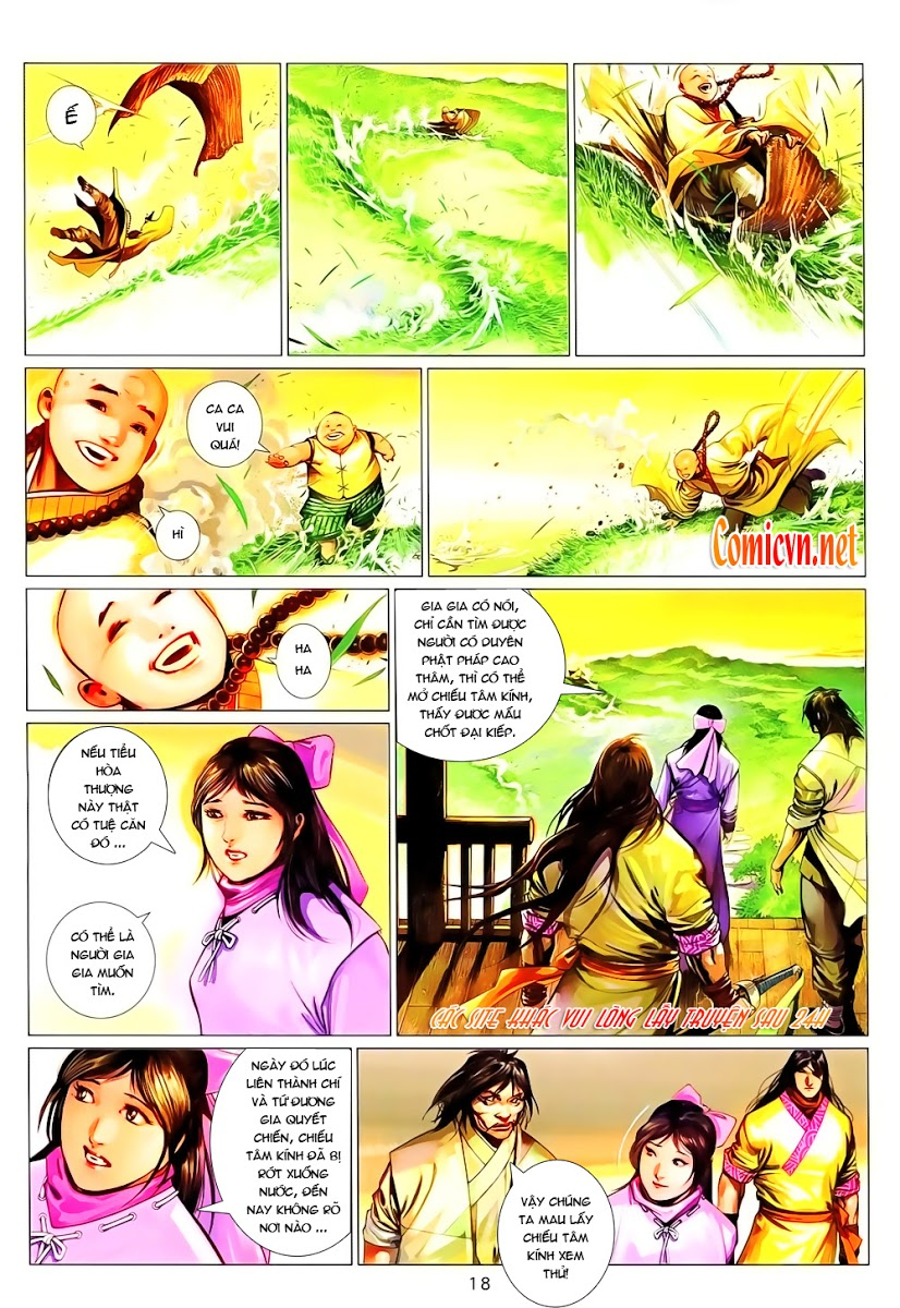Phong Vân chap 642 Trang 18 - Mangak.info