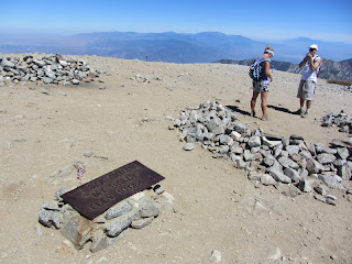 Mt. Baldy summit 10,064