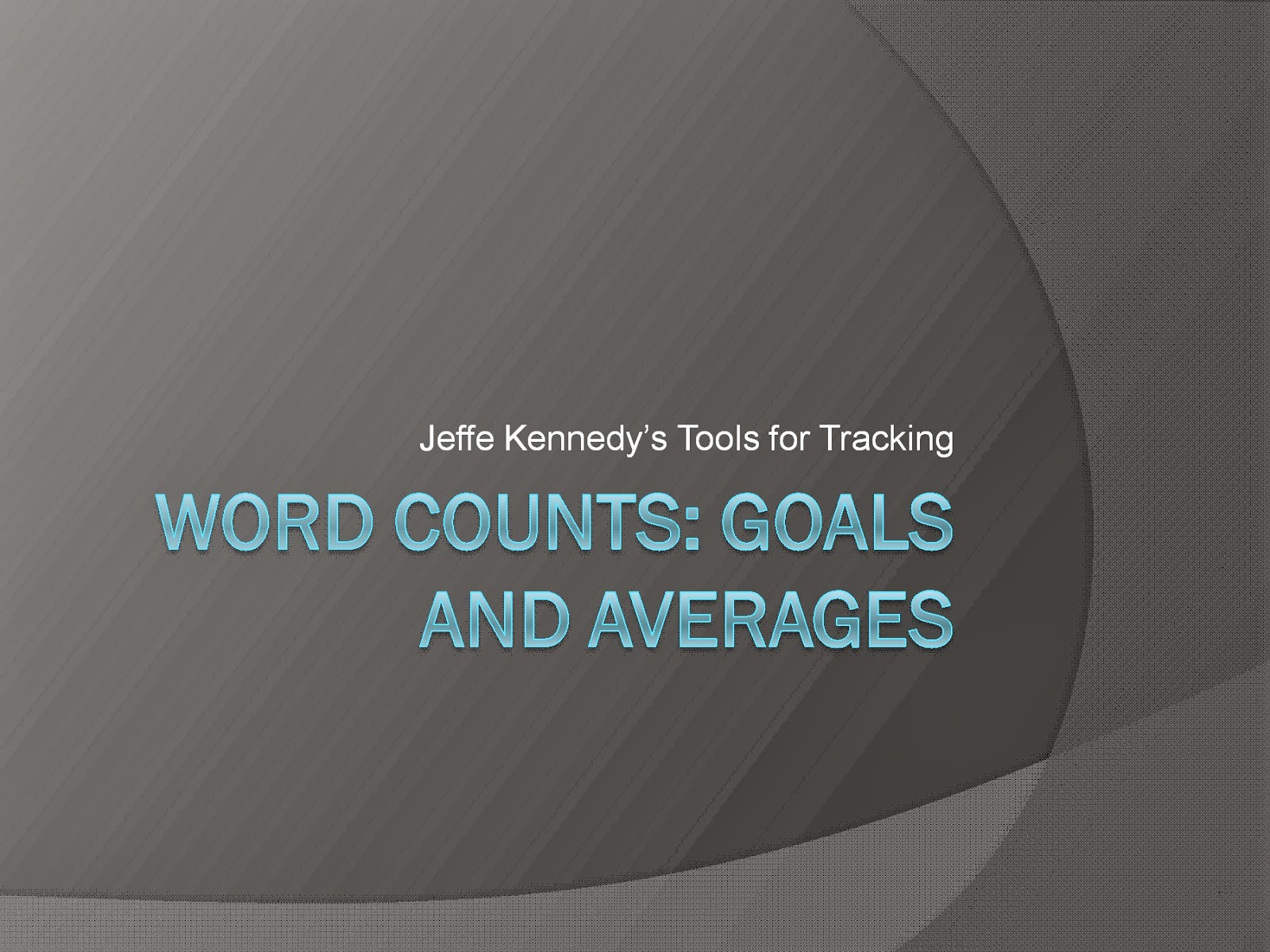 how to see word count in powerpoint