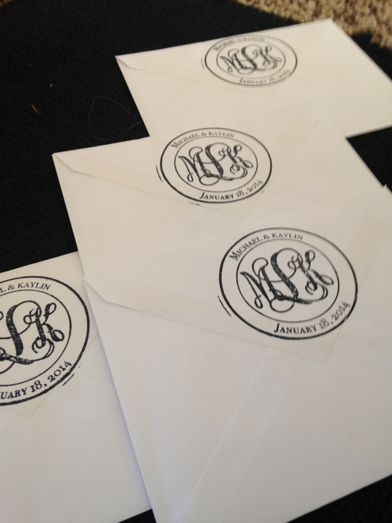 monogram, stamp, crafting, diy