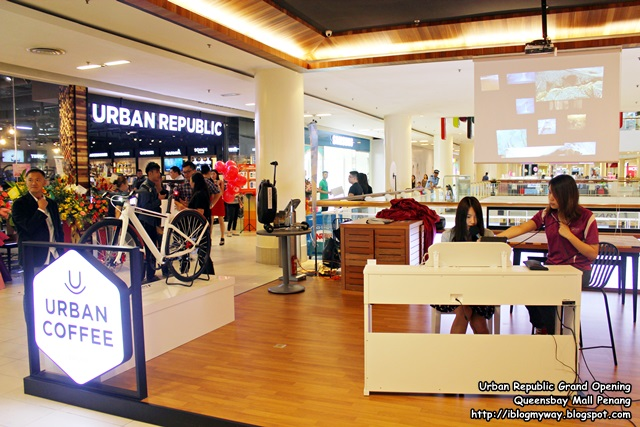 Urban Republic Grand Opening, Queensbay Mall Penang