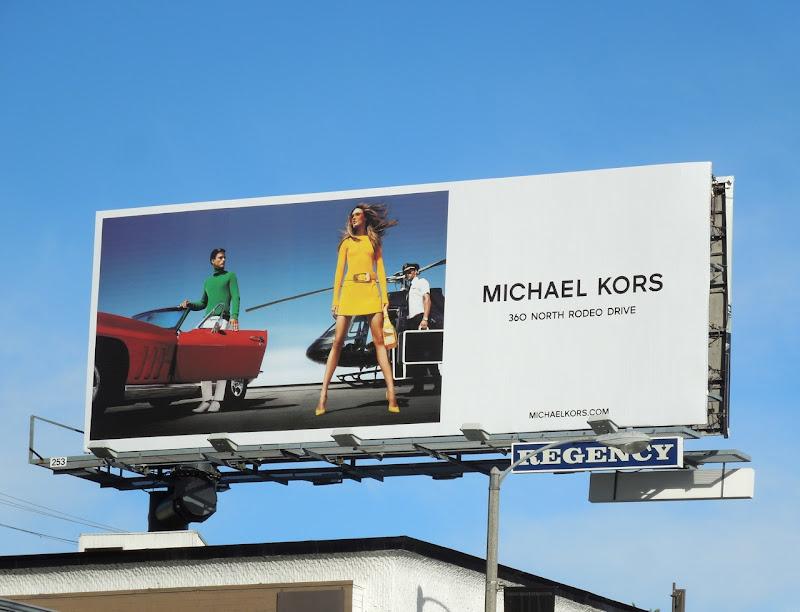 Michael Kors SS 2013 billboard