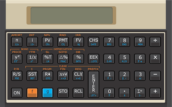 HP-12C Emulator