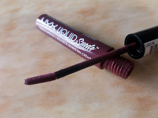 NYX LIP SUEDE in VINTAGE, NYX Lip Suede Cream Lipsticks, Matte lipstick, Matte liquid lipsticks, Matte lips, Brown lipstick, Matte plum Lipstick, Liquid Lipsticks, Shocking pink Lipstick, Neon Pink Lipstick, Nyx Cosmetics, Just4girlspk, beauty, beauty blogger, Lipstick review, Lipstick swatches, Beauty review, Makeup, Makeup online, red alice rao, redalicerao