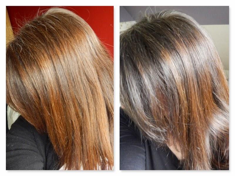 dunkle haare grauer ansatz