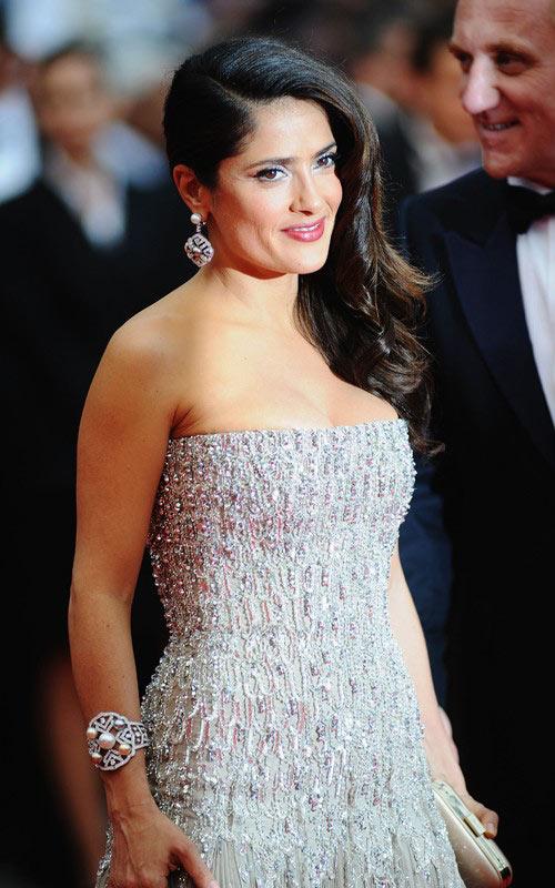 salma hayek photos 2011. Salma Hayek at Cannes Film