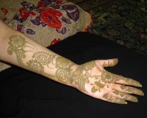 Mehndi Designs Punjabi : Punjabi mehndi designs for hands