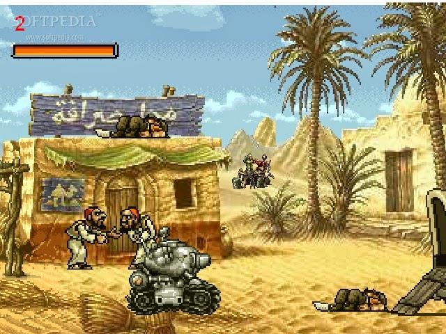 صور لعبة حرب الخليج للكمبيوتر Download Metal Slug PC