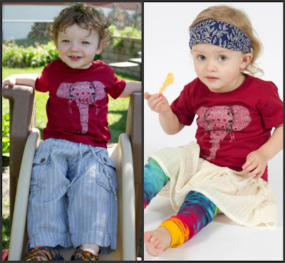 organic+kids+elephant+tee - Organic Kids Clothing for Matching Family Photos