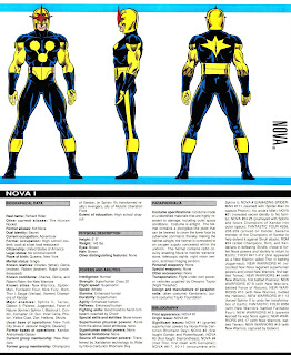 Nova (ficha marvel comics)