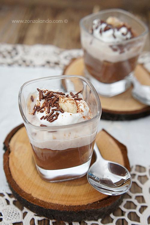 Dolce al cucchiaio con castagne crema di castagne e cioccolato ricetta chestnut dessert recipe