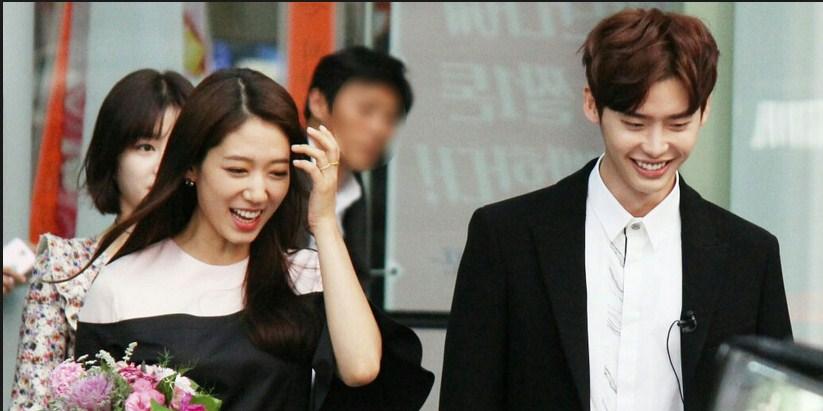 Foto Terbaru Lee Jong Suk & Park shin hye Romantis | Informasi Terbaru