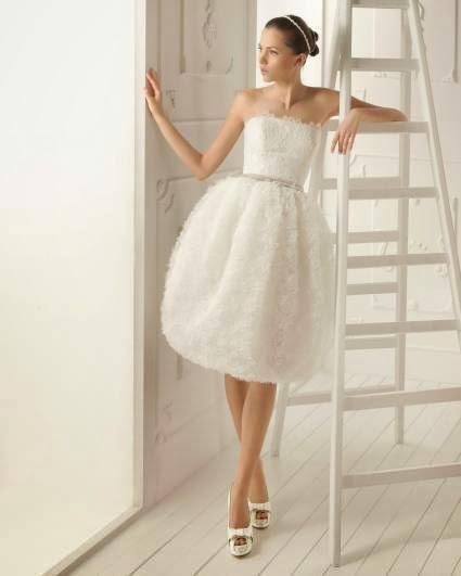 vestido corto novia aire barcelona