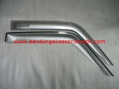 Talang Air Hiace Silver Mugen Depan