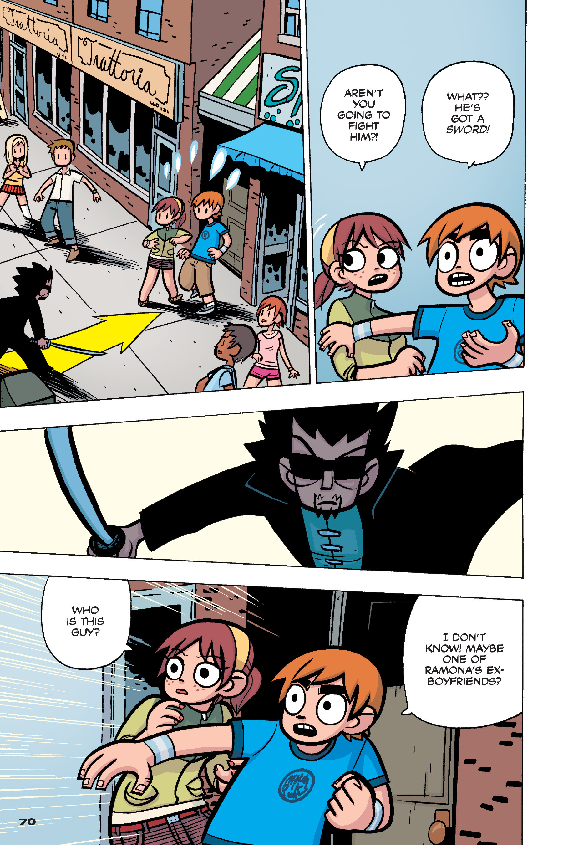 Read online Scott Pilgrim comic -  Issue #4 - 68