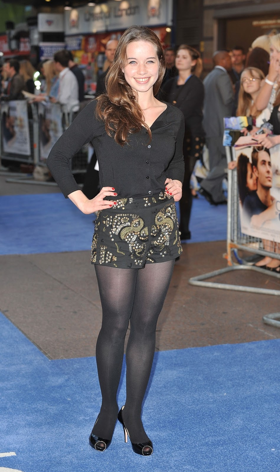 Celebrity legs and feet in tights anna popplewells legs and feet the day begins with a new addition to the blogna popplewell voltagebd Image collections