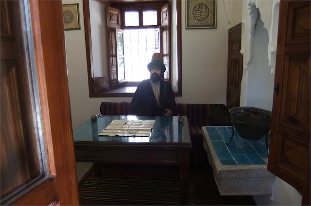 Maniquí con ropas autenticas - Museo de Mevlâna (Konya)