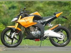 Honda Tiger Modifikasi fighter