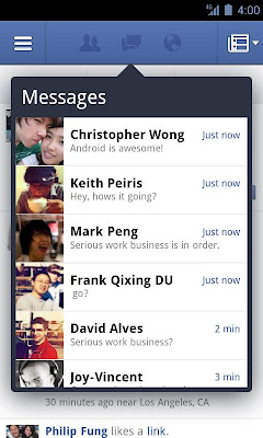 Facebook 1.9.1 for Android