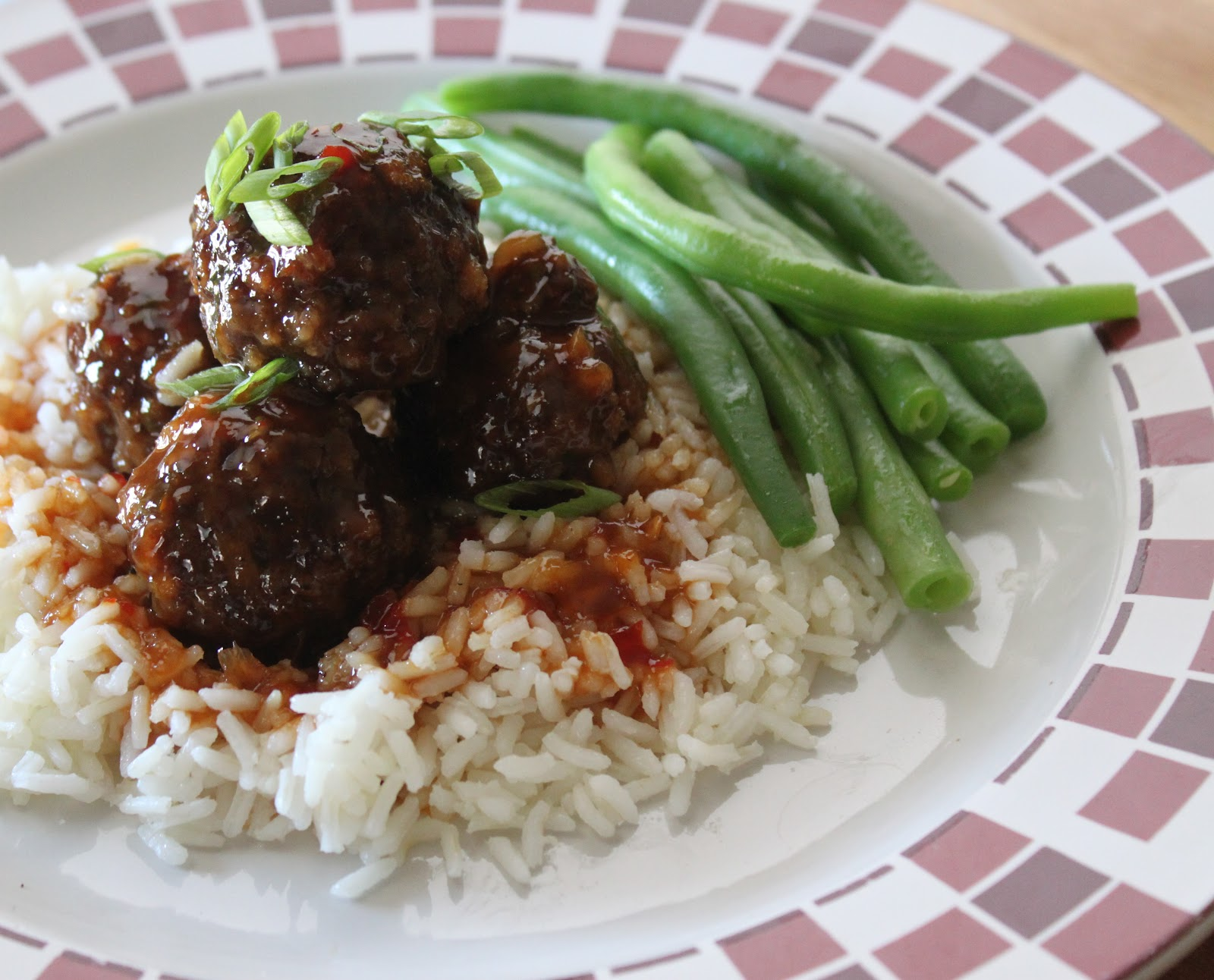 Basil: Spicy, Sweet and Sour Asian Meatballs
