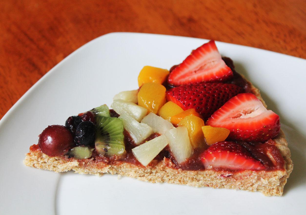 Fast Dessert Recipes - Raw Dessert Pizza Recipe - NUT FREE