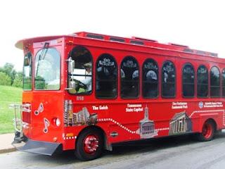 Hop on hop off bus Nashville