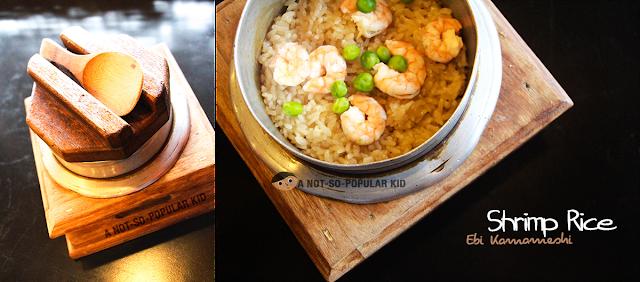 Shrimp Rice (Ebi Kamameshi) of the Kamameshi House