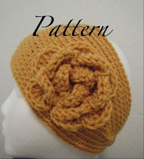Cable Knitting Patterns For Scarves : Crochet Headwrap Pattern: November 2012