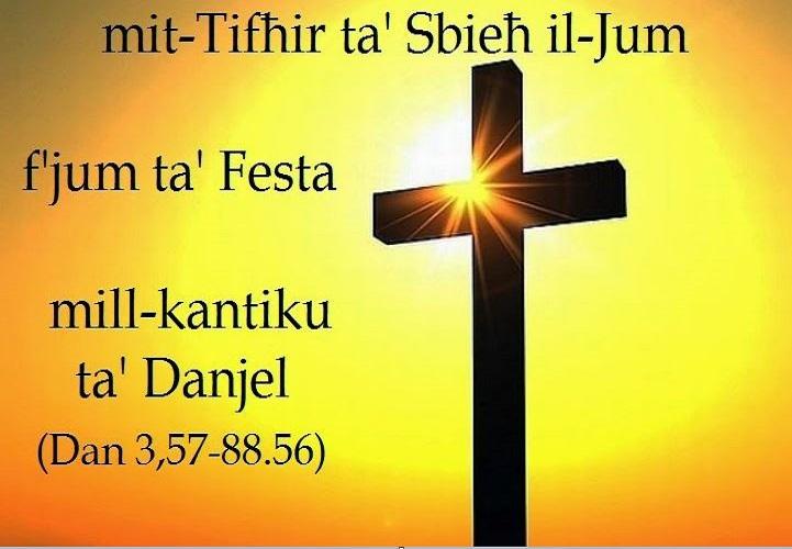 Canticle - Daniel 3:57-88.56 -- Kantiku - Danjel 3:57-88.56