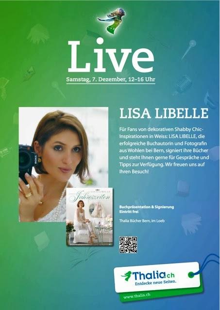 LISA LIBELLE Gast bei Thalia, Samstag 7.12.2013