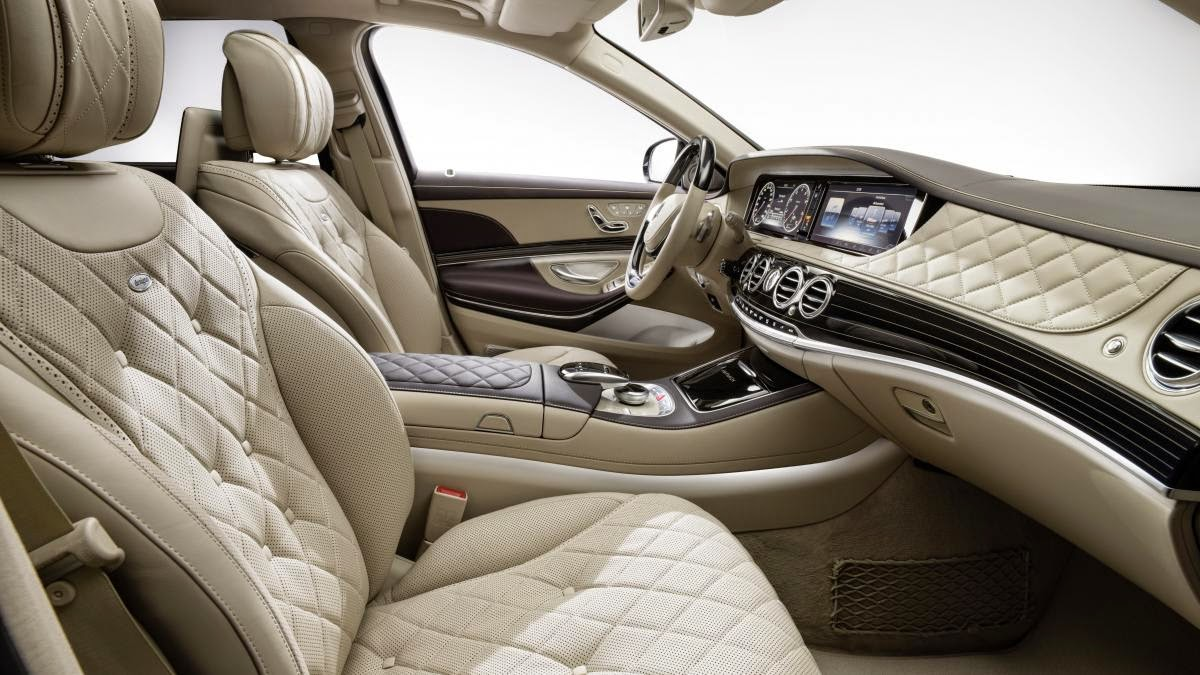 Mercedes Maybach S600 interior