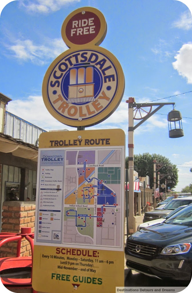 Scottsdale trolley map