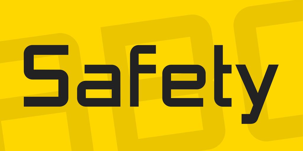 Safety Font