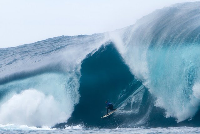 "Ray Collins Surfing at West Australia's ""The Right"""