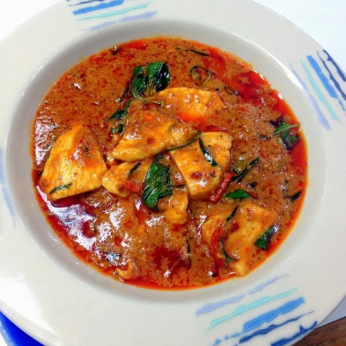 The Hungry Bunny: Gaeng Panang Gai (Panang Curry Chicken)