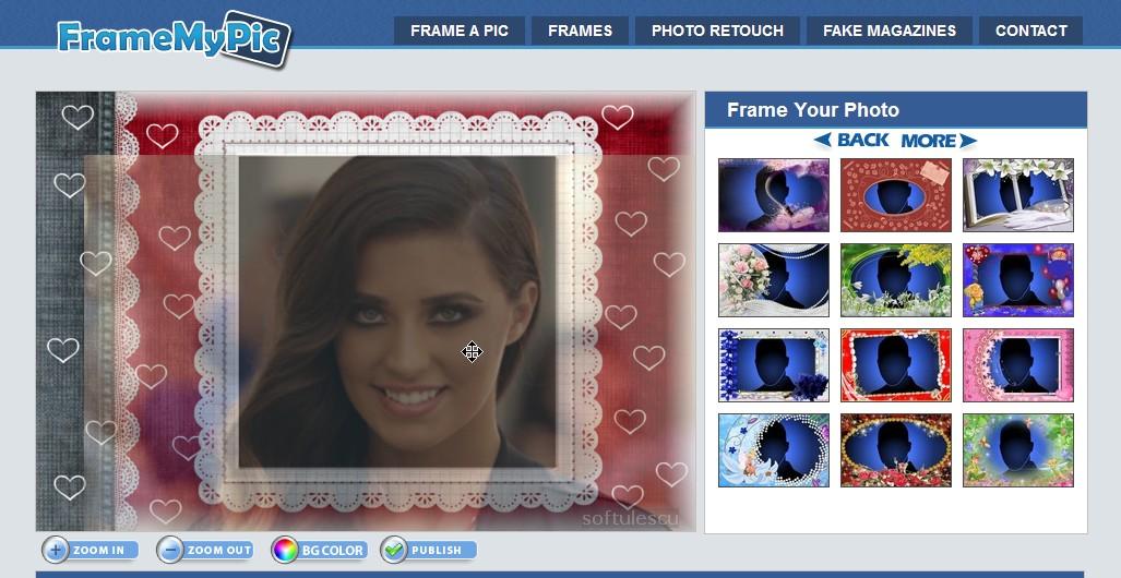 Adaugă rame la poze online cu FramemyPic 3