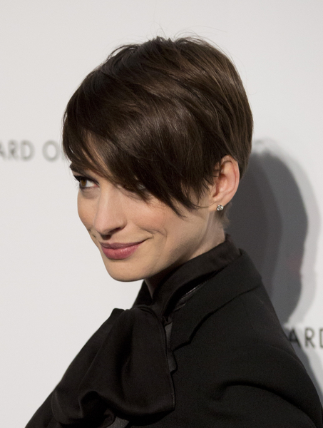 Pixie Cut With Long Fringe Miss hathaways long