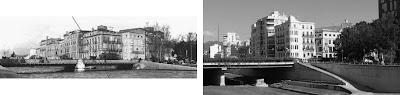 Málaga: Puente de Tetuán 1940-2011