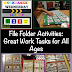 File Folder Activities-Great Work Tasks for all Ages {Workbasket Wednesday}
