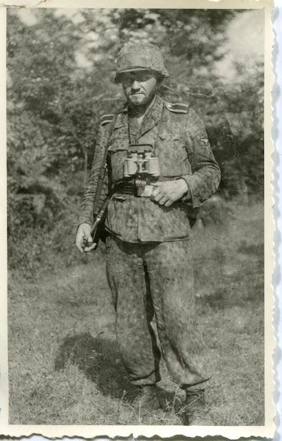 Les tenues allemandes en camouflage italien. S453
