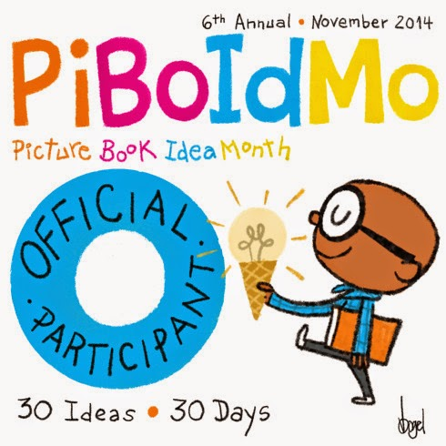 I am registered for Picture Book Idea Month